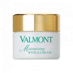 Moisturizing With a Cream...