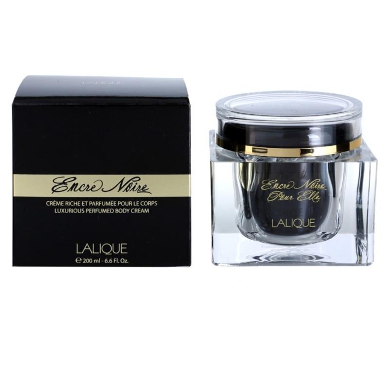 lalique encre noir body cream