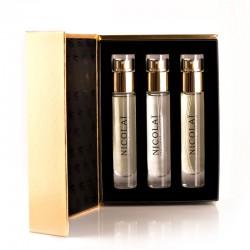 Nicolai - Coffret Eau de Parfum 3X15 ml (New York Intense, Musc Intense, Patchouli Intense)